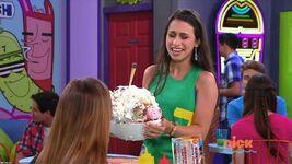 Gigi delivering The Dumpster