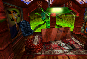 Cortex Island - Pinstripe's Office