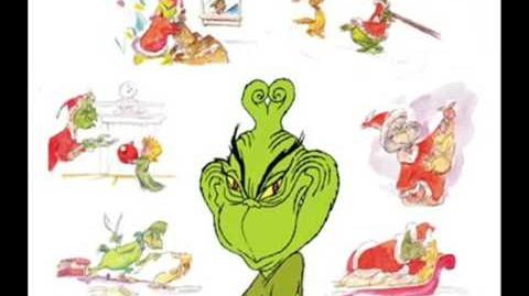 You're a mean one Mr Grinch