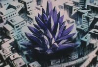 Enormous Evil Black Crystal