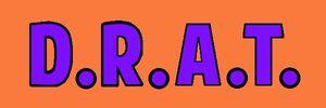 The D.R.A.T. Logo