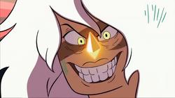Jasper's Evil Grin