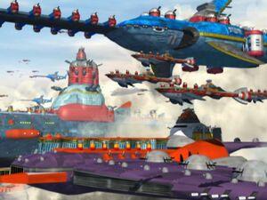 The Eggman Fleet