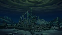 Destruction of Queen Morgana's Ice Cave