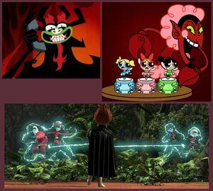 The Villainous Taunts