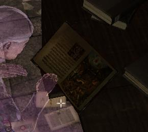 The Library Ghost with the Gozerian Codex