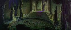 Maleficent's Throne Room