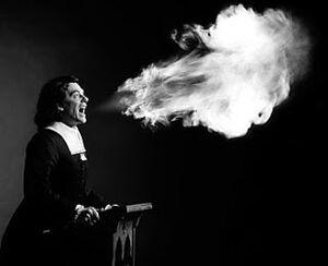 The Fire & Brimstone Preaching