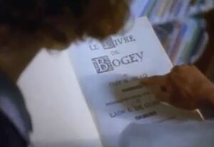 The Le Livre de Bogey Book