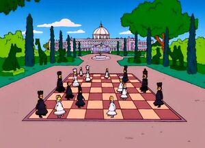 The Burns Manor's Chessboard