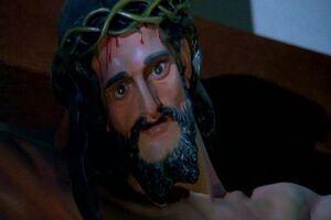 The Creepy Christ Statue