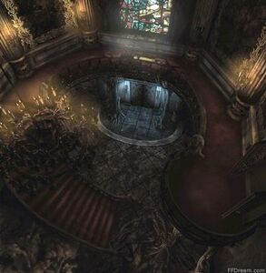 Left Stairway Hall A