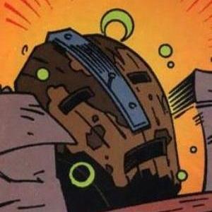 Brown Mask of Loki