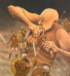 Polyphemus devouring sailors