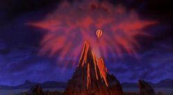 Volcanic Castle Mountain