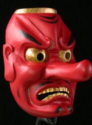 Japan-Mask-Tengu-2-a