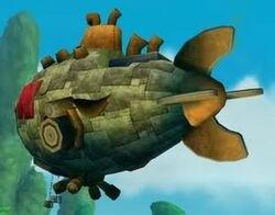 Dr. Neo Cortex's Airship
