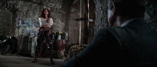 Fatima Blush (played by Barbara Carrera) Never Say Never Again 206-0