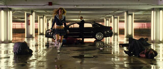 Car Jacking Girl (played by Annalynne McCord) The Transporter 2 51
