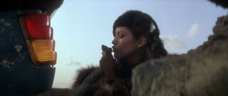 Fatima Blush (played by Barbara Carrera) Never Say Never Again 47