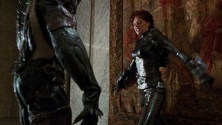 Jessica Priest in Spawn (played by Melinda Clarke) 115