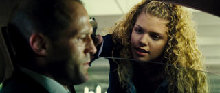 Car Jacking Girl (played by Annalynne McCord) The Transporter 2 14