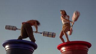 Michelle Rodham Huddleston (played by Brenda Bakke) Hot Shots 2 121