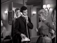 Phyliss Derring with Wayne and Ballard (Joan Marshall with Lee Kinsolving and Mark Goddard) 3