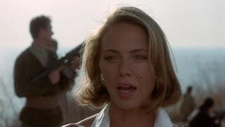 Michelle Rodham Huddleston (played by Brenda Bakke) Hot Shots 2 105