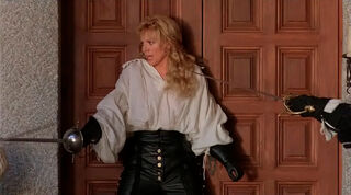 Justine de Winter (played by Kim Cattrall) The Return of the Musketeers 2394