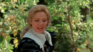 Justine de Winter (played by Kim Cattrall) The Return of the Musketeers 139