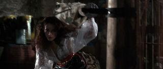 Fatima Blush (played by Barbara Carrera) Never Say Never Again 187-0