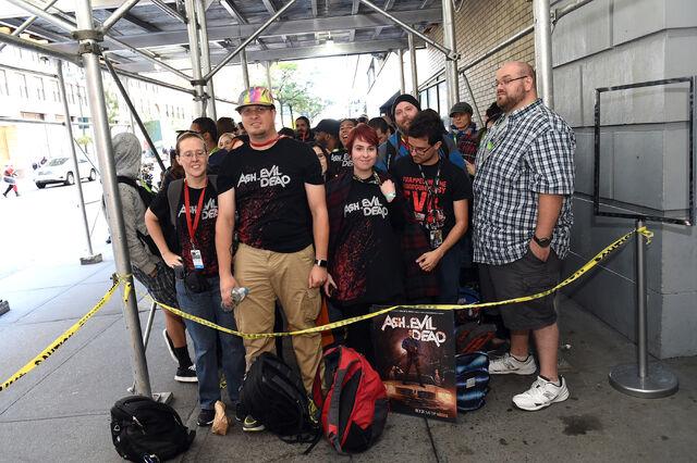 File:New York Comic Con 2015 - Ash vs Evil Dead event 004.jpg