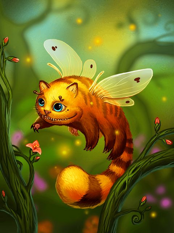 File:Ds creature Catbee preview.png
