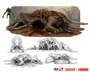 Armadon corpse nest for reavers by nickdespain-d8jlnzk