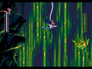 EarthwormJim MegaDrive bungee-mucus