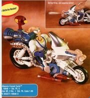 Playmates Earthworm Jim Crazed Cycle