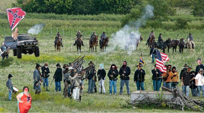 Braddock county war