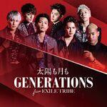 GENERATIONS - Taiyou mo Tsuki mo DVD cover
