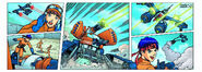 LEGO EXOFORCE 7706 Comic