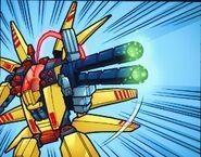 The gun of the Supernova