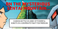 Comic 1: En la Misteriosa Montaña Sentai