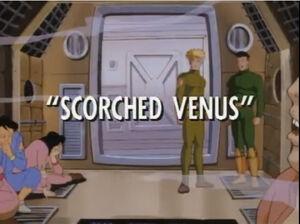Scorched Venus titlecard
