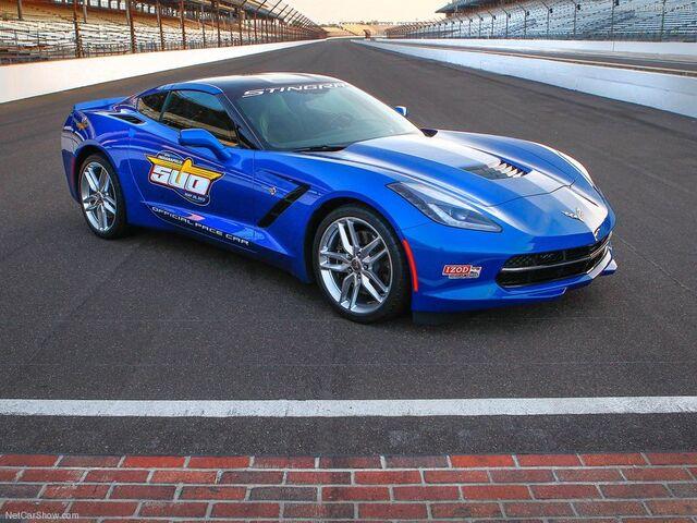 File:Chevrolet-Corvette Stingray Indy 500 Pace Car 2014 800x600 wallpaper 01.jpg
