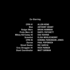 closing credits when double episode is split (amazon video)