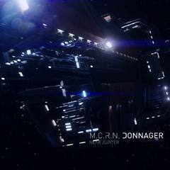 The Donnager near Jupiter