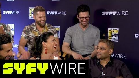 The Expanse Cast On How They Spent Comic-Con San Diego Comic-Con 2017 SYFY WIRE