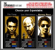 The expendables game