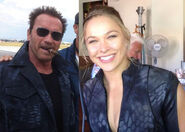 EX3- Rousey and Arnie