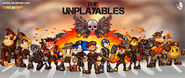 The expendables videogame style unplayables Nintendo